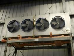 Russel remote air cooled condensor unit 4  30 inch fans 11.5  x 2.0  x 4.5