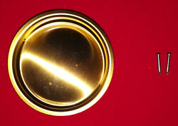 Red Brass Sliding Door Finger Pull 2 1 8quot; Bypass Hardware for Closet Doors