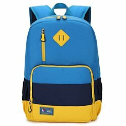 Kids Shops Waterproof Backpack For Elementary Middle School Boys And Girls (Blue