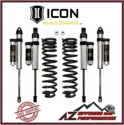 Icon 2.5 Suspension System Stage 2 For 2017-up Ford F250 F350 4wd Super Duty