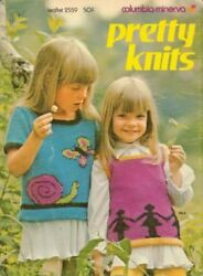 Pretty Knits Sweaters And Vests For Children [pamphlet] [jan 01, 1972] Anonym