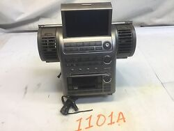03 04 INFINITI G35 COUPE RADIO PLAYER RECEIVER CLIMATE CONTROL AIR VENT 1101A I