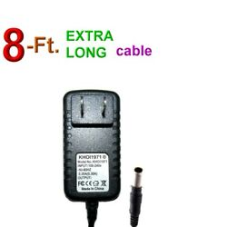 8ft Wall Ac Adapter For Radioshack Pro-2096 Receiver Scanner