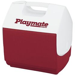 Igloo 7362 Playmate Pal Personal Sized Cooler Diablo Red White 7 Qt $27.67
