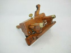 Old Plough Plane Moseley Son London 1862 Plow Collectable Woodworking Hand Tools
