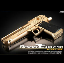 Academy Desert Eagle 50 Gold Special Edition Airsoft /6mm Hand Grips Toy