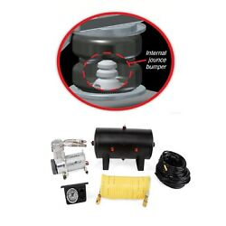 Air Lift Loadlifter 5000 Ultimate And Quickshot On-board Air Compressor For Sierra