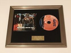 Signed/autographed Fatboy Slim - Youand039ve Come A Long Way Baby Framed Cd