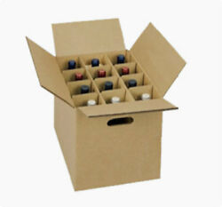 Wine Carrier Box With Handles