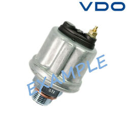 Vdo Oil Pressure Sensor 80psi With Warning Contact 360-081-039-004c