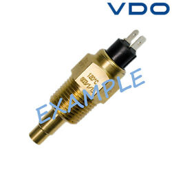 Vdo Temperature Sensor With Warning Contact Boat Marine 130c 323-803-014-002d