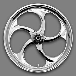 Renegade South Beach Chrome 21 Wheels Package Set Tires Harley Flh/t 09-18