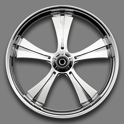 Renegade Cabo Chrome 21 Wheels Package Set Tires Harley Flh/t 09-18