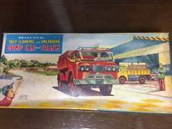 Daito Tinplate Dump Truck Set Vintage Super Rare Toy From Japan Free Shipping