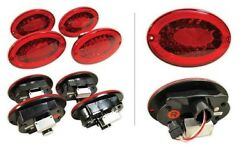 97-04 Corvette C5 Rear Led Tail Lights Complete Set Nice New For Us Cars Only
