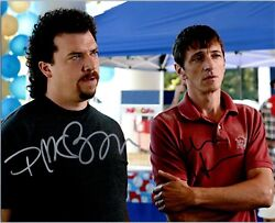 Danny Mcbride And John Hawkes Dual Signed Autographed And039eastbound And Downand039 8x10 A