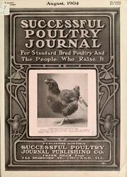 205 back issues SUCCESSFUL POULTRY JOURNAL MAGAZINES backyard raise chickens DVD