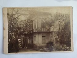 RARE VINTAGE CENTRAL AMERICA HOME: House in an Equatorial Climate Cabinet Card