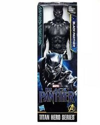 Black Panther 12-inch Figure Marvel Titan Hero Series  *New in Box Free Shipping