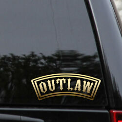 Outlaw Decal Sticker