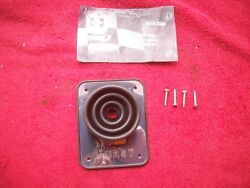 Vintage 1950and039s 60and039s Nos Hurst Three Speed Mystery Shifter Boot And Plate Rat Rod