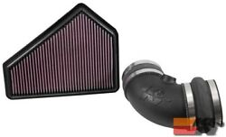 K&N Air Intake AIRCHARGER For CADILLAC CTS-V V8-6.2L F/I, 2009-2015 63-3086