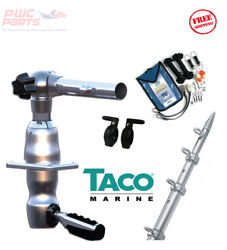 Taco Grand Slam 280 Package W/15and039 Silver/gold Poles Rigging Kit Gs-2841vel-1