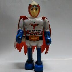 Vintage Rare Gatchaman Ii Tin Toy Figure From Japan Free Shipping