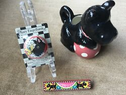 Mary Engelbreit Scottish Terrier Scottie Dog Items -  LOT of 3