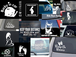 Safetycautionwarning Stickers/car Decals-high Quality.us Vinyl. Free Shipping