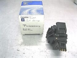 82-92 Buick Cadillac Oldsmobile Oem Trunk Lid Pull Down Motor 3pin Switch-only