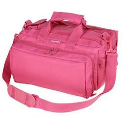 Bulldog Cases Deluxe Range Bag w Strap- Pink
