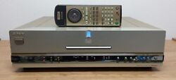 Sony Dvp-s9000es Dvd Player Sacd Player In Black And Silver