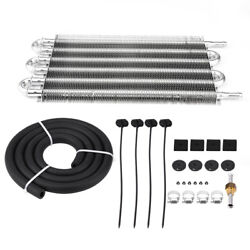Universal Car Auto SUV Air Conditioning Condenser Set Aluminium Alloy Sliver DY