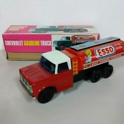 Chevrolet Gasoline Truck Tinplate Mini Car From Japan Free Shipping