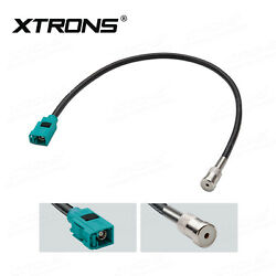 Xtrons Fakra Interface Car Iso Radio Antennna Cable Adapter For Auto Stereo Dvd