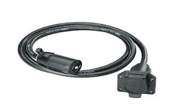 Tow Ready 118664 Durable Connectors Seven-way Trailer End Extension Cable 7ft.