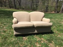22nd Street Nyc Classic Sofa Sofa And Loveseat W Down And Goose Feather Cushions