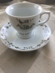 Htf Hendricks Gin Promotional Tea Cup And Saucer Set A Most Unusual Gin Mint