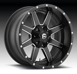 CPP Fuel Off Road D538 Maverick wheels 20x12 fits: FORD F250 F350 1998-OLDER 4X4