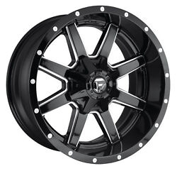 CPP Fuel Off Road D610 Maverick wheels 20x12 fits: FORD F250 F350 1998-OLDER 4X4