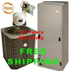 1.5 Ton R-410A 14SEER Complete Electric System CondenserAir Handler with Coi