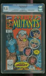 Cgc 9.6 New Mutants 87 Marvel 3/1990 1st Cable Stryfe Mutant Liberation Front