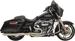 Bassani 1f28ss Long Road Rage Iii Stainless 2-into-1 Exhaust System