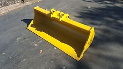 New 48 Caterpillar 301.8c Ditch Cleaning Bucket With Pins
