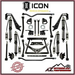 Icon 2-4 Stage 1 Complete Coilover Conversion System For 07-18 Jeep Wrangler Jk