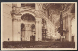 London Postcard - St Pauland039s Cathedral - The Choir Rs8939