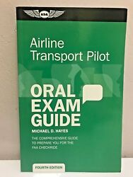 Airline Transport Pilot Oral Exam Guide By Asa 4th Edition P/n Asa-oeg-atp-4