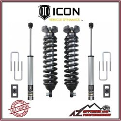 Icon 3 Suspension System Stage 1 For 16-20 Nissan Titan Xd 4wd