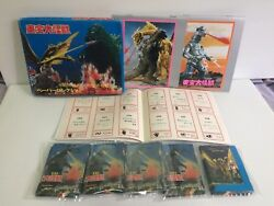 Godzilla Japanese Vintage 250 Mini Cards And 3 Collection Album